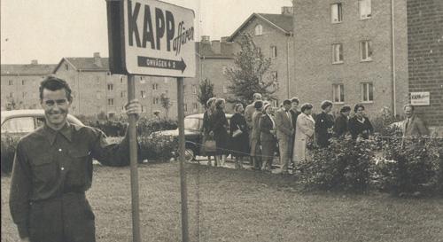 KappAhls första butik 1953