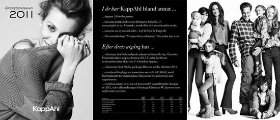 KappAhl Årsredovisning 2010/2011