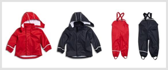 KappAhl Kaxs regnkläder får toppbetyg av Testfakta