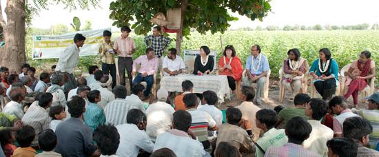 Intressentdialog i utbildningsprojekt med BCI - Better Cotton Initiative