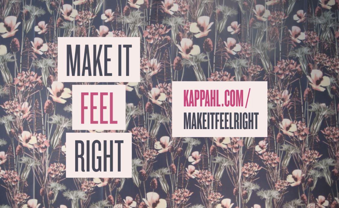 Make it feel right – tredje avsnittetute