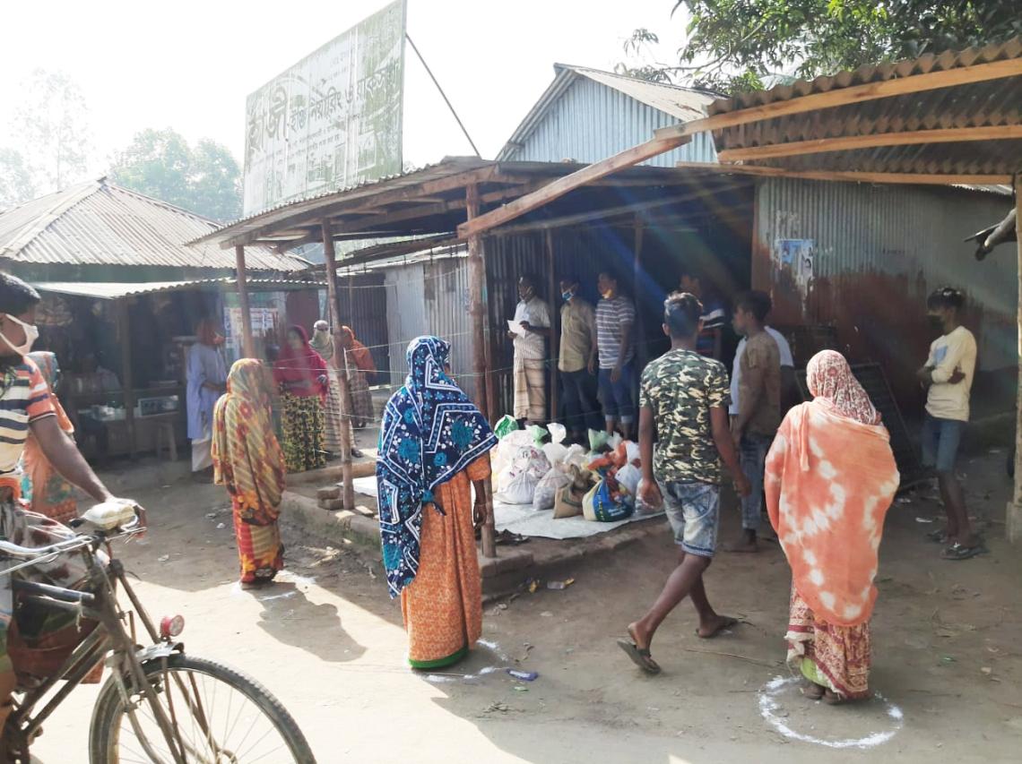 Food distribution Bangladesh